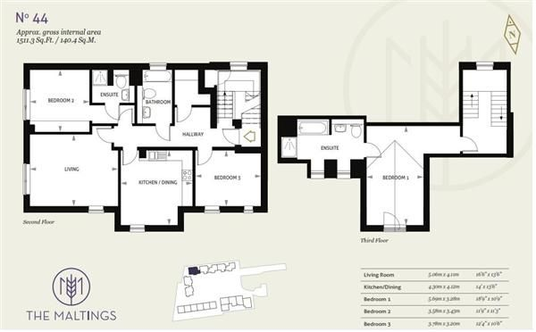 Thumbnail Flat for sale in Piper House, The Maltings, Newmarket