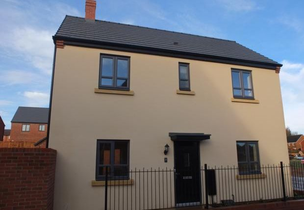 Thumbnail Detached house to rent in Leonard Grove, Lawley Village