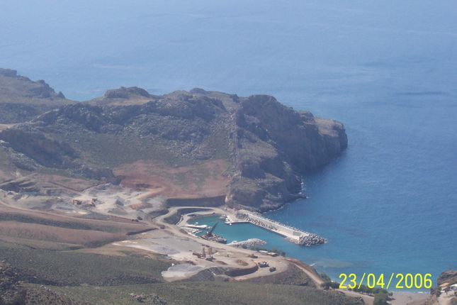 Thumbnail Land for sale in Land Plot For Sale 300.000 Sq.Meters, Lentas, Heraklion, Crete, Greece
