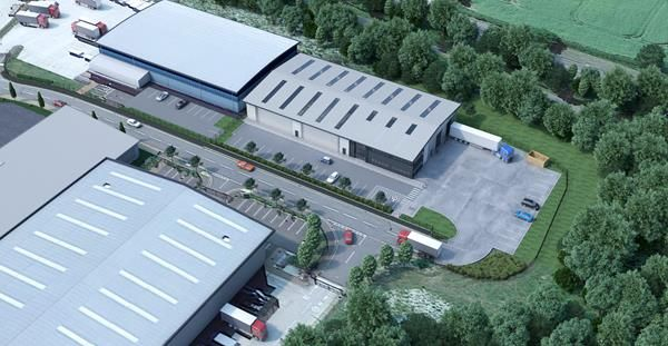 Thumbnail Light industrial to let in New Build Warehouse, Markham Vale, Greaves Close, Markham Vale, Chesterfield