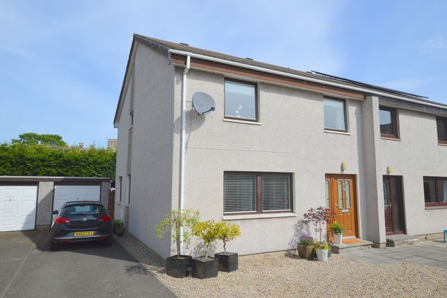 Thumbnail Semi-detached house for sale in Turret Gardens, Tweedmouth, Berwick-Upon-Tweed, Northumberland