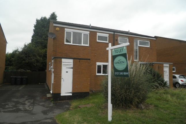 Thumbnail Semi-detached house to rent in Welshmans Hill, Sutton Coldfield
