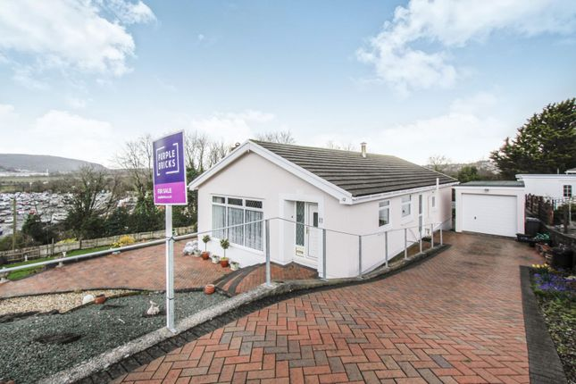 Thumbnail Detached bungalow for sale in Benedict Close, Skewen, Neath