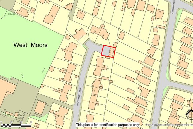 R025 (2).Png of Garages Adjacent To 20 Shaftesbury Close, West Moors, Ferndown, Dorset BH22