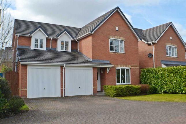 Thumbnail Detached house for sale in The Lees, Burtonwood Road, Great Sankey, Warrington