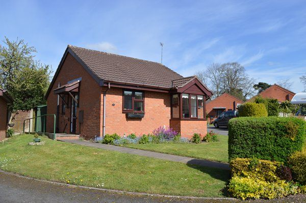 Thumbnail Detached bungalow for sale in Goosefield Close, Market Drayton