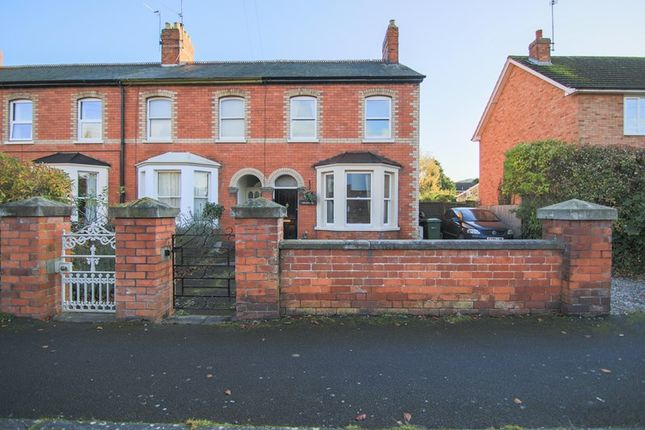 Thumbnail End terrace house for sale in Penyard Villas Weston Grove, Ross-On-Wye, Herefordshire