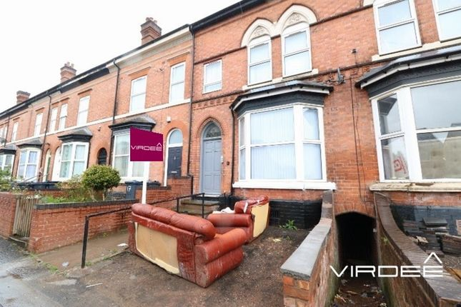 Thumbnail Terraced house for sale in Crompton Road, Handsworth, West Midlands