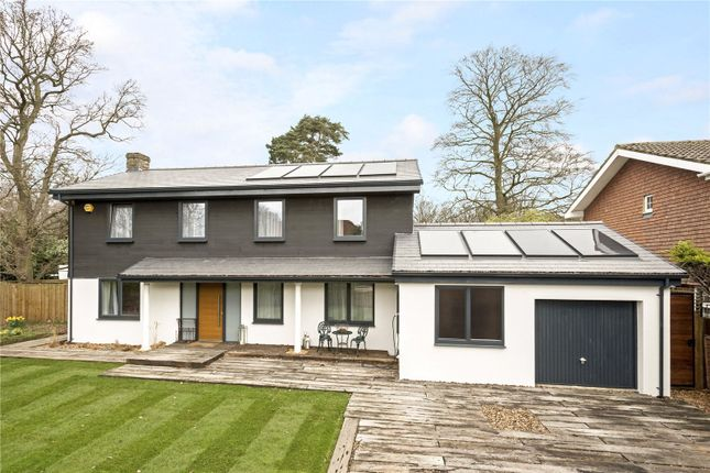 Thumbnail Detached house for sale in Nightingale Close, Cobham, Surrey