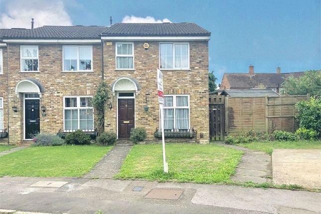 Thumbnail End terrace house to rent in Holmsdale Close, Iver, Buckinghamshire