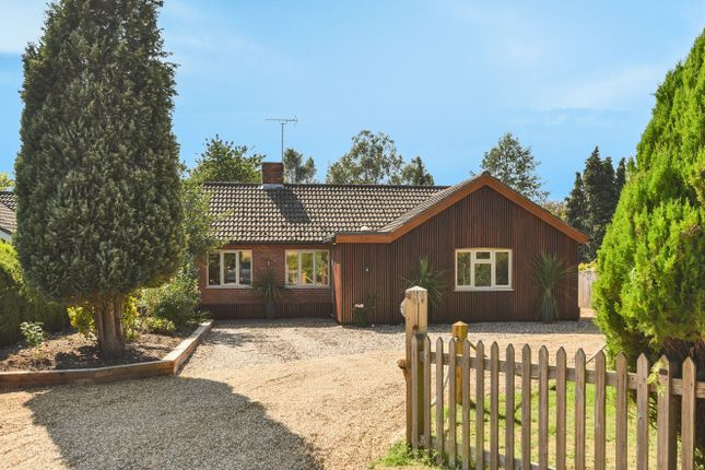 Thumbnail Detached bungalow for sale in Station Road, Thursford, Fakenham