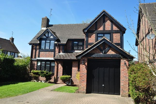 Thumbnail Detached house to rent in Lowry Close, College Town, Sandhurst