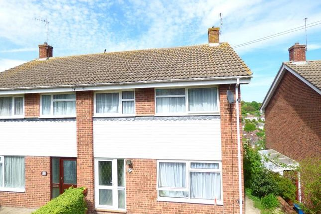 Thumbnail Semi-detached house to rent in Eaves Road, Dover