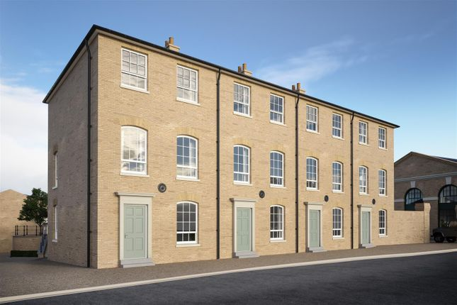 Thumbnail Terraced house for sale in Coningsby Place, Poundbury, Dorchester