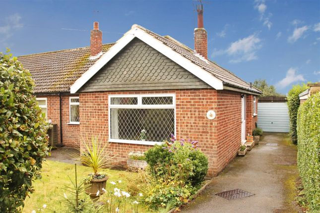 Thumbnail Semi-detached house for sale in Moorland Close, Harrogate