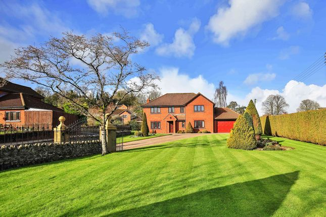 Thumbnail Detached house for sale in Larchwood, Wenvoe, Near Cardiff