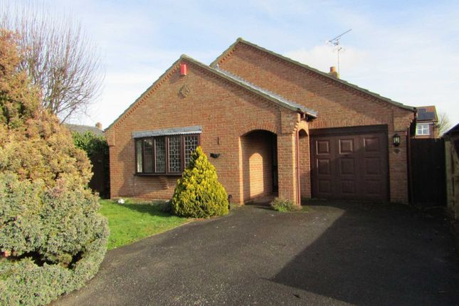 Thumbnail Detached bungalow to rent in Ingham Hall Gardens, Parson Drove, Wisbech
