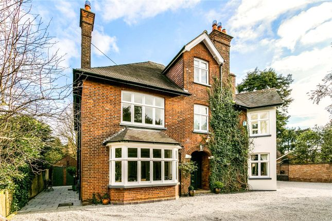 Thumbnail Detached house for sale in Cricketers Close, St. Albans, Hertfordshire