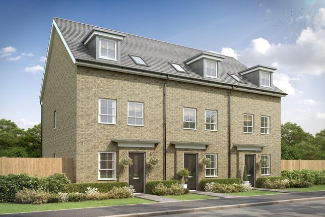 """Thumbnail Semi-detached house for sale in """"Norbury"""" at Stretton Road, Stretton, Warrington"""
