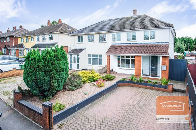 3 bed semi-detached house for sale in Mob Lane, Pelsall, Walsall WS4