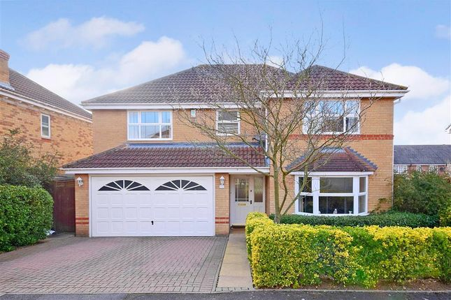 Thumbnail Detached house for sale in Hunter Drive, Wickford, Essex