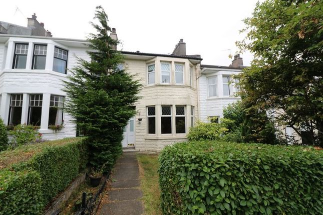 Thumbnail Terraced house for sale in Largie Road, Newlands, Glasgow
