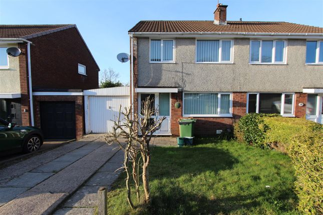 Thumbnail Semi-detached house for sale in Plas Grug, Watford Park, Caerphilly
