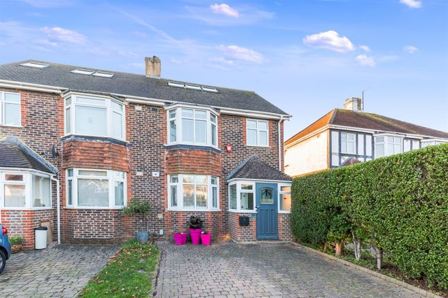 Thumbnail Semi-detached house for sale in Vale Avenue, Brighton