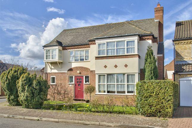 Thumbnail Detached house for sale in Elizabeth Drive, Hartford, Huntingdon, Cambridgeshire