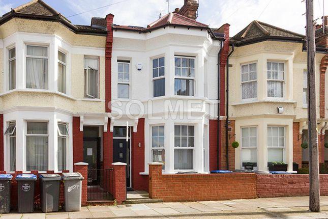 Thumbnail Terraced house to rent in Gowan Road, Willesden Green, London