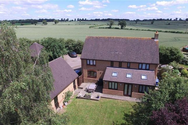 Thumbnail Detached house for sale in Bretts Lane, Roade, Northampton