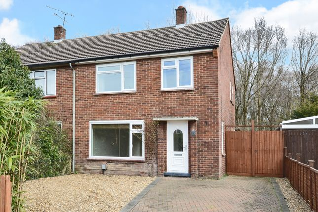 Thumbnail Semi-detached house for sale in Cranmore Road, Mytchett, Camberley