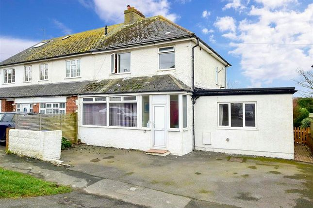 Thumbnail End terrace house for sale in Broomfield Avenue, Telscombe Cliffs, East Sussex