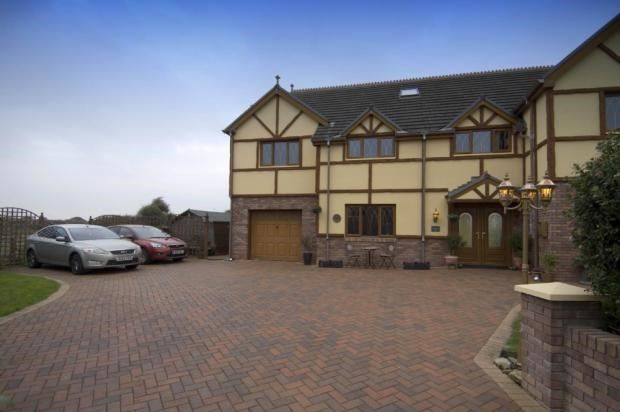 Thumbnail Detached house for sale in Park View Drive, Kidwelly