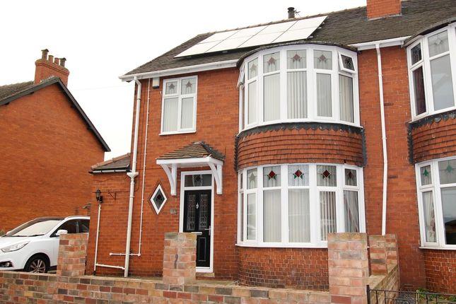 Thumbnail Semi-detached house for sale in Warren Avenue, Knottingley