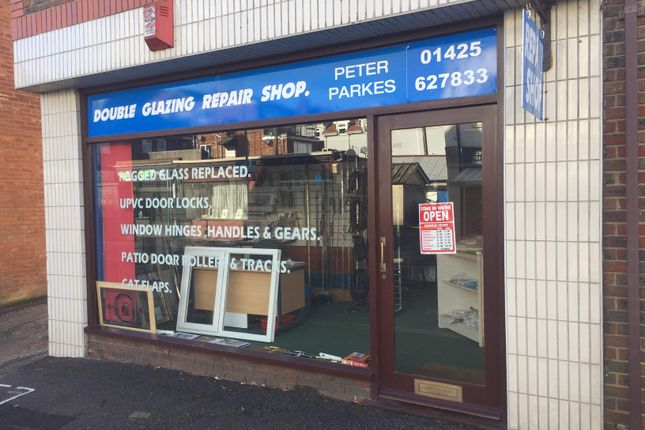 Commercial property to let in Double Glazing Repair Shop, New Milton