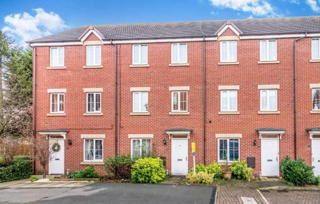 Thumbnail Terraced house for sale in The Limes, Uttoxeter, Staffordshire