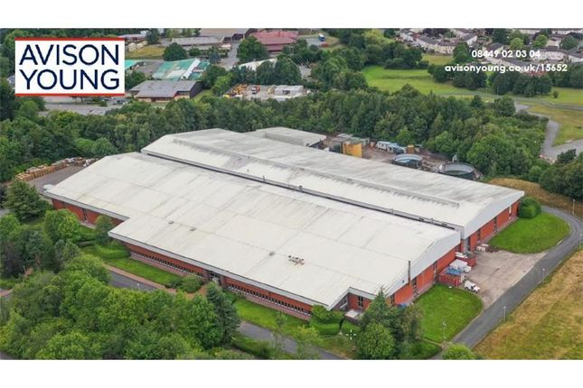 Thumbnail Warehouse for sale in Unit 40, Mochdre Industrial Estate, Newtown, Montgomeryshire, Wales