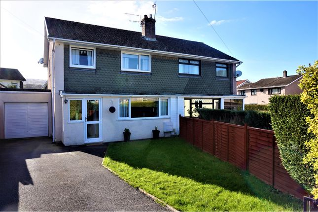 Thumbnail Semi-detached house for sale in Hillview, Abergavenny