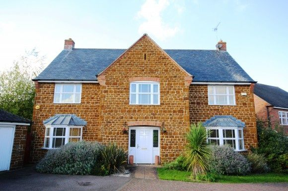Thumbnail Detached house to rent in Loddington Way, Mawsley, Kettering