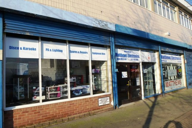 Thumbnail Retail premises for sale in Doctor Watson House, Birmingham