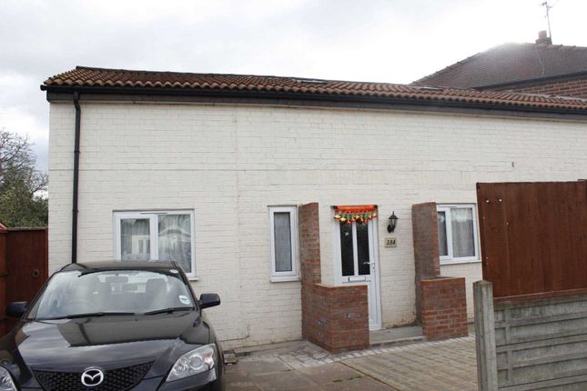 Thumbnail End terrace house to rent in Rosedale Avenue, Rushey Mead, Leicester