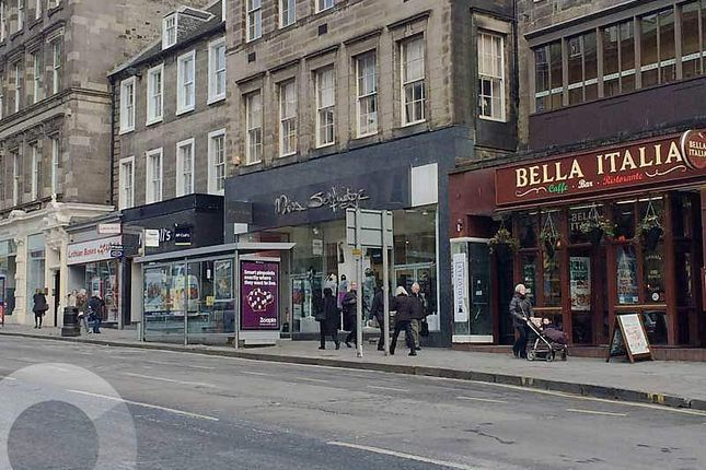 Thumbnail Retail premises to let in Hanover Street, New Town, Edinburgh