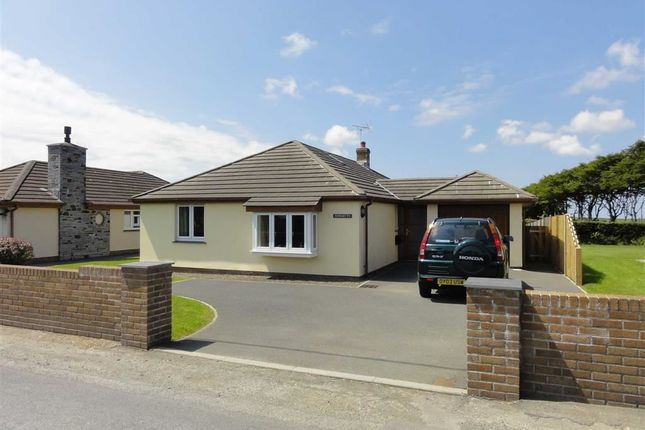 Thumbnail Detached bungalow to rent in Hallworthy, Camelford, Cornwall
