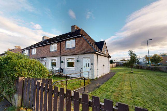 Thumbnail End terrace house for sale in Park Street, New Stevenston, Motherwell