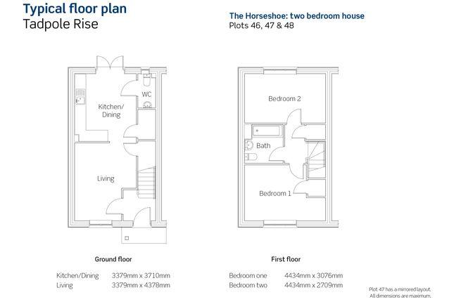 Floor Plan of Newlynne Close, Swindon SN25