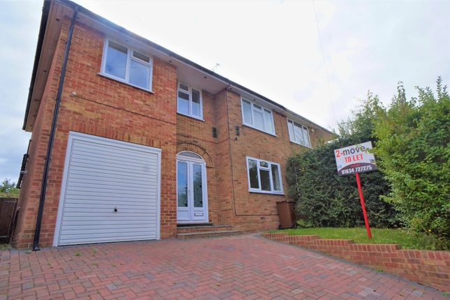 Thumbnail Semi-detached house to rent in Hollywood Lane, Wainscott, Rochester