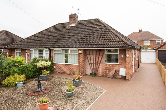 Thumbnail Bungalow for sale in Rawcliffe Close, York