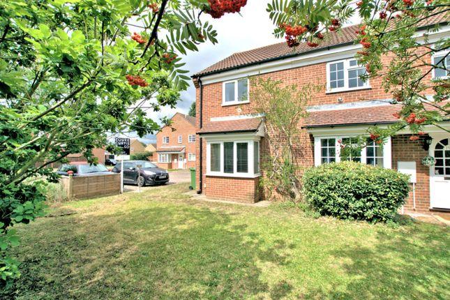 Thumbnail Semi-detached house to rent in The Rowans, Milton, Cambridge