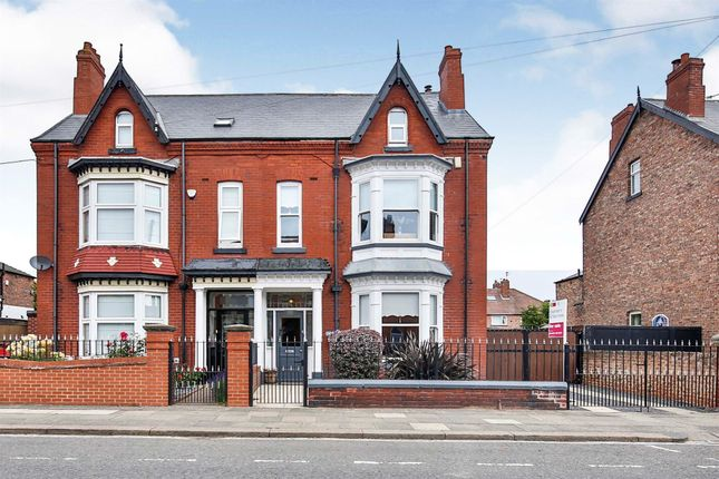 Thumbnail Semi-detached house for sale in Park Road, Hartlepool